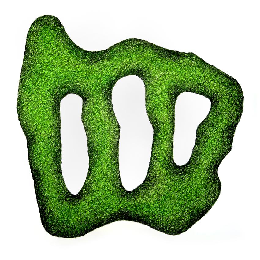 Schwerelos grün