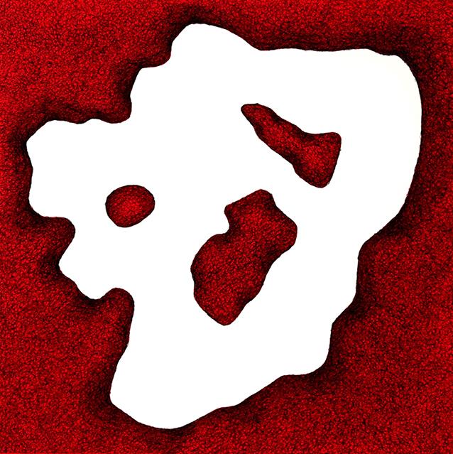Schwerelos rot oder